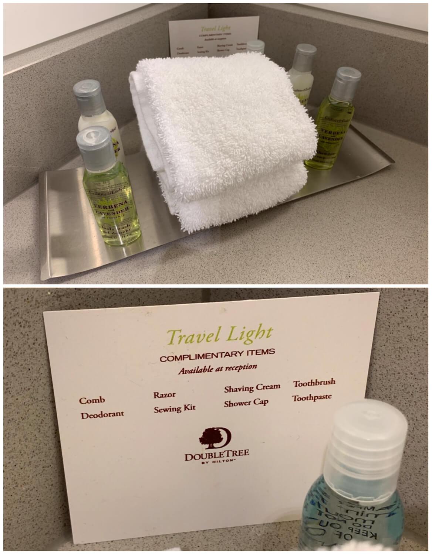 DoubleTree Glasgow Executive Room - Bathroom Toiletries