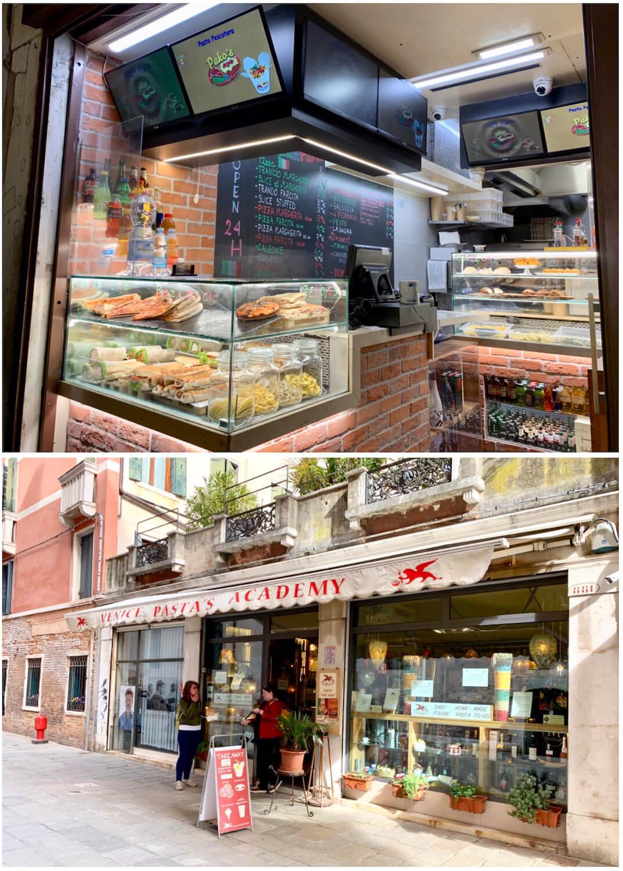 Pako's Pizza and Pasta and Venice Pasta Academy - Venice, Italy - On A Budget