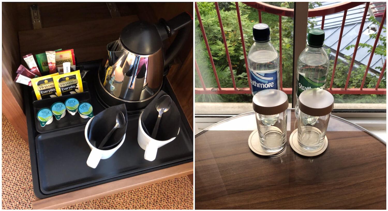 Aberdeen Treetops - Tea/Coffee Facilities and Water Bottles