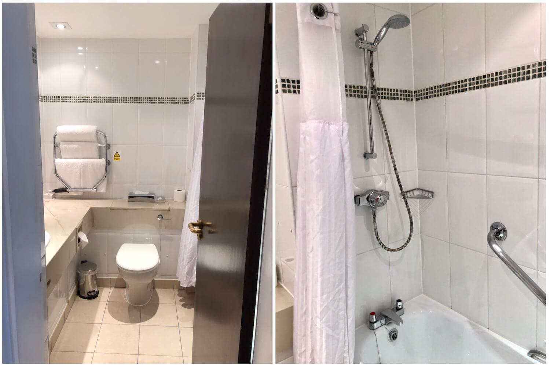 Aberdeen Treetops - Queen Deluxe Room Bathroom