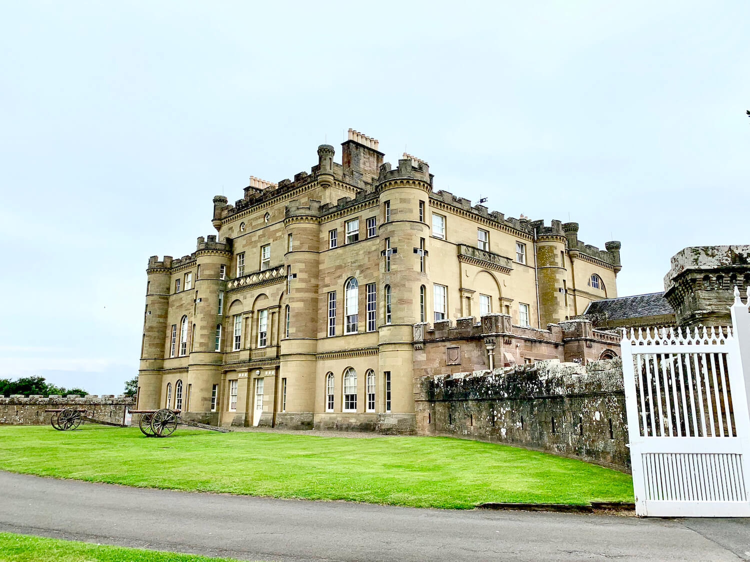 Culzean Castle and Country Park - Castle From The Outside
