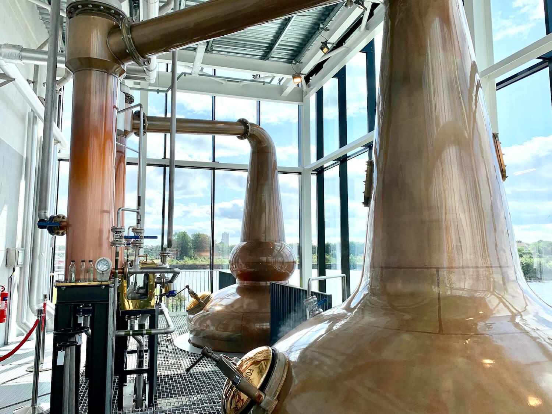 The Clydeside Distillery - Copper Stills
