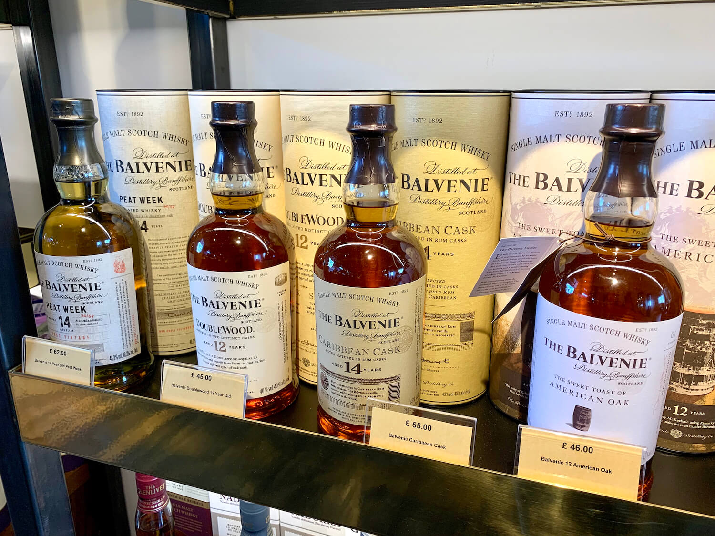 The Clydeside Distillery - Balvenie in the shop