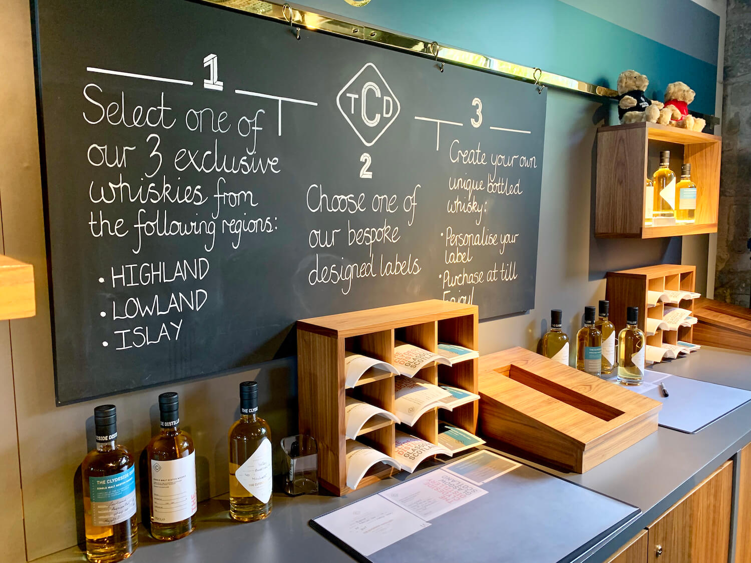 The Clydeside Distillery - Create Your Own Whisky Bottle