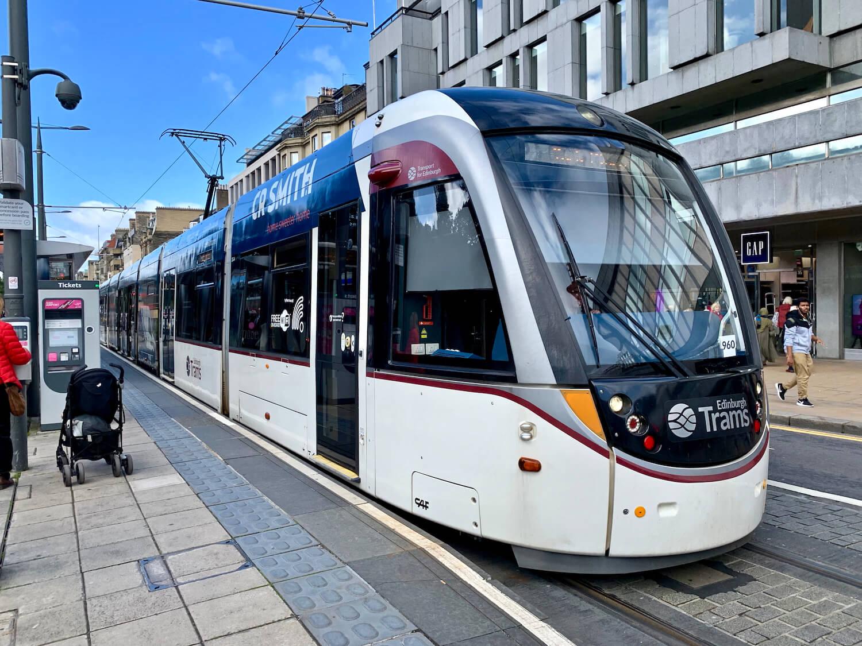 Edinburgh Tram Exterior