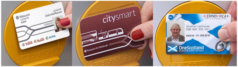 Edinburgh Tram Smartcards