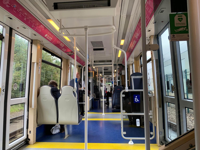 Edinburgh Trams Wheelchair Space
