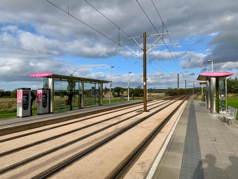 Edinburgh Trams - Ingliston Park and Ride Stop