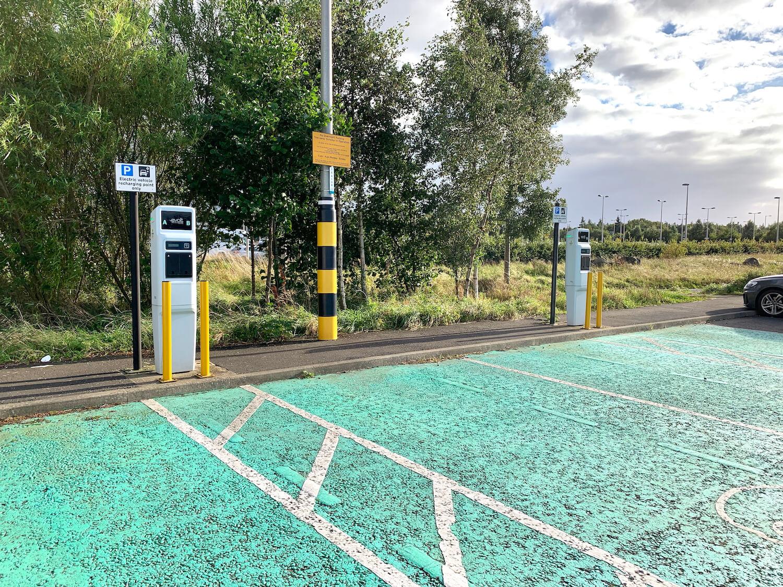 Edinburgh Trams - Ingliston Park and Ride EV CharGing