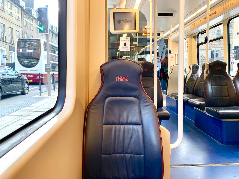 Edinburgh Trams Interior