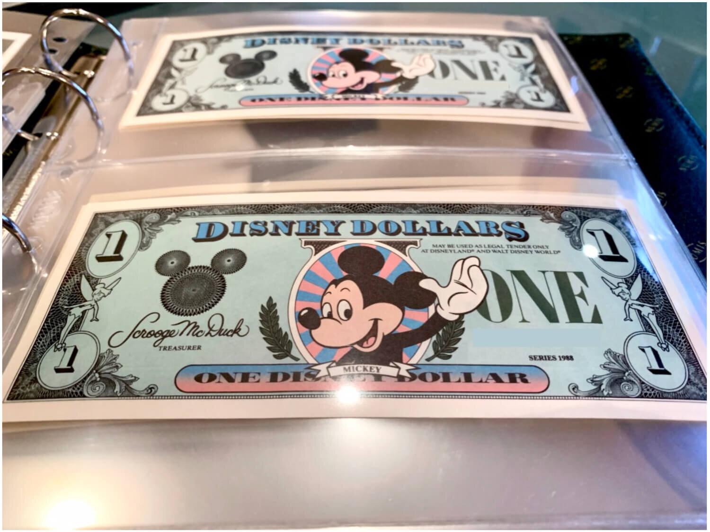 Disney Dollars - Mickey Notes