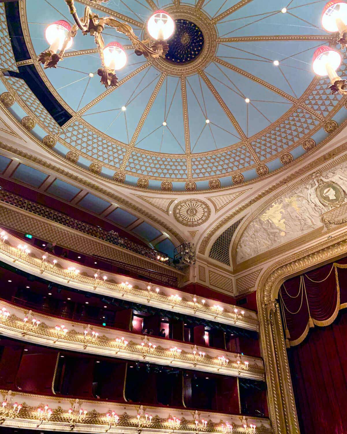 Royal Opera House - Main Stage Auditorium Roof