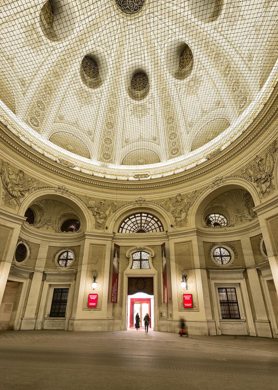 Hofburg Palace, Vienna - Michaelerkuppel Entrance