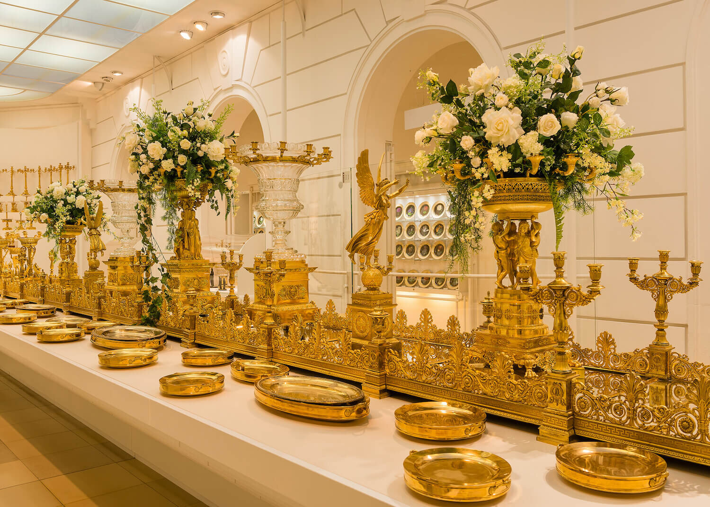 Hofburg Palace - Milan Table Centrepiece