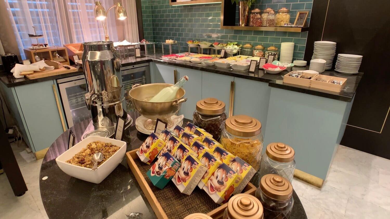 Hilton Vienna Plaza - Executive Lougne Breakfast