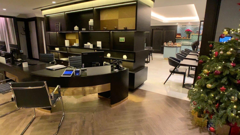 Hilton Vienna Plaza - Executive Lounge