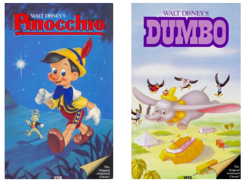 Disney VHS The Classics Black Diamond