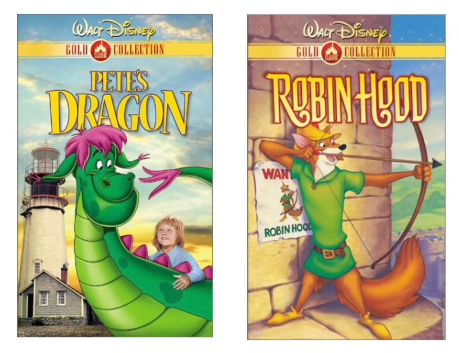 Disney VHS Gold Collection