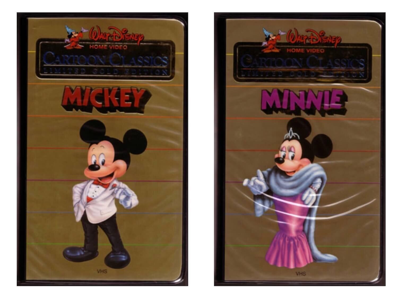 Disney VHS Cartoon Classics Limited Gold Edition