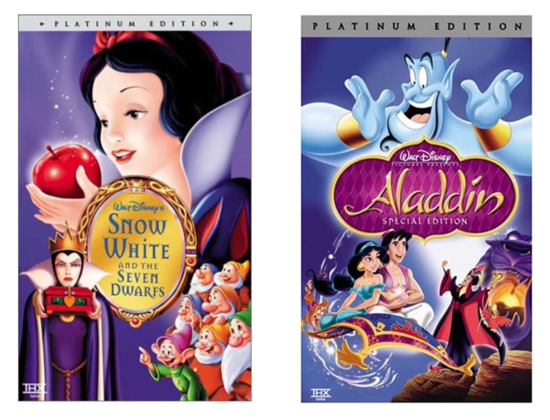 Disney VHS Platinum Editions