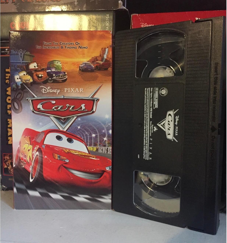 Disney Cars Movie Club Exclusive VHS
