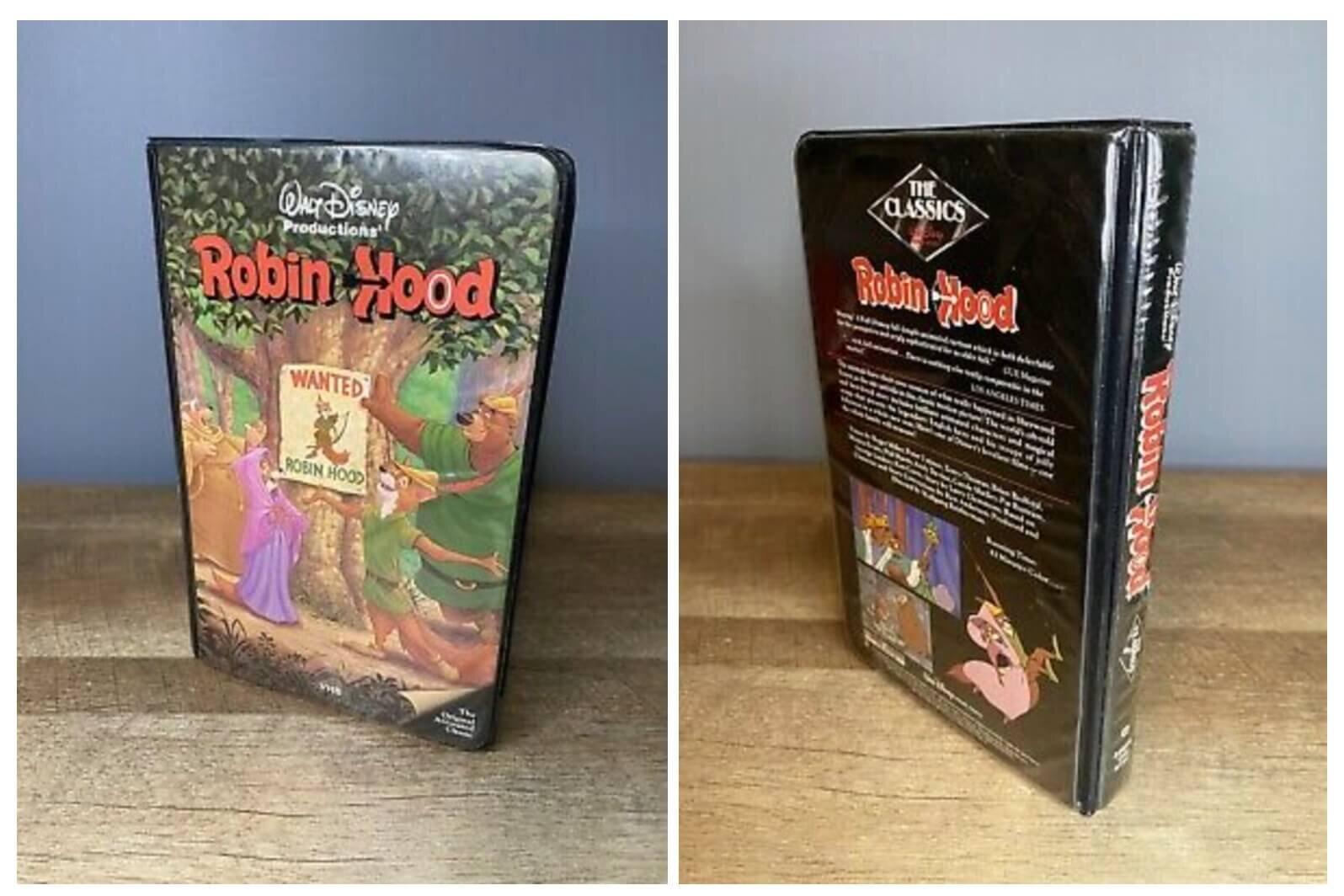 Disney Black Diamond Classic Robin Hood VHS