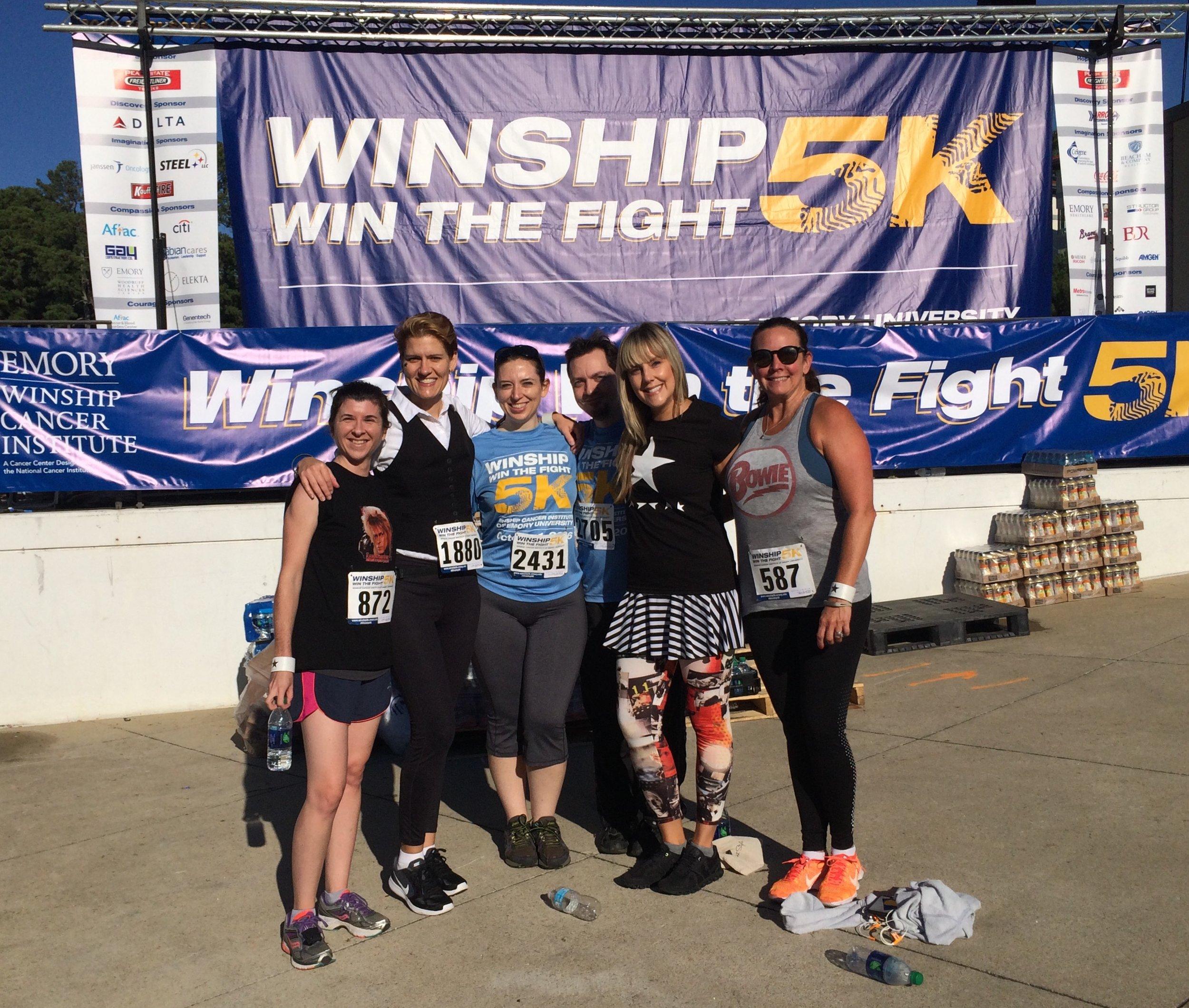 Winship Cancer Institute 5K Team