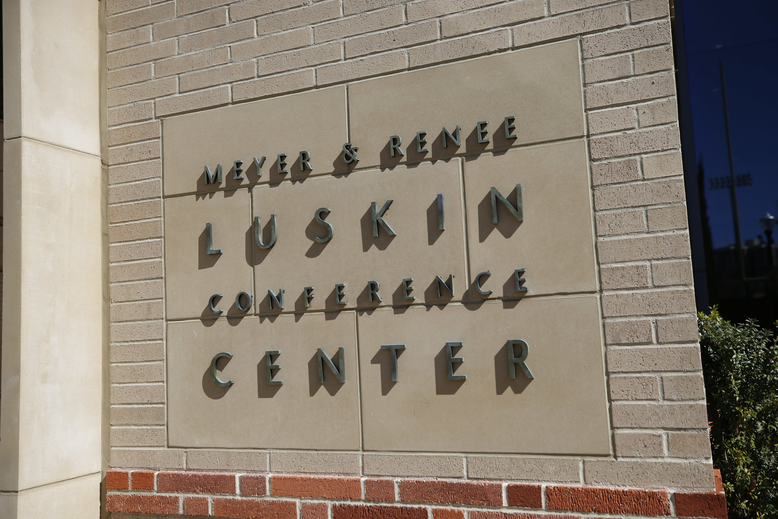 Thinktank held at UCLA's Luskin Conference Center