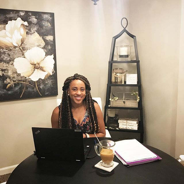 Malinda is one of our newest members and is relocating to South Carolina.  She wanted a space to work from when visiting Omaha and chose Trouvaille as her home away from home ✨  She is back in the office this week and we love having her energy around ✨