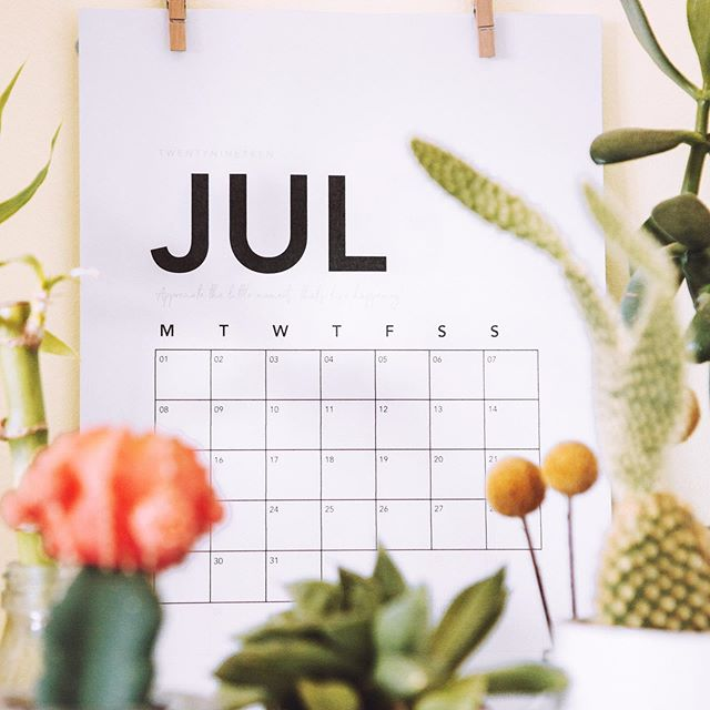 With July coming to an end, fight the urge to focus on what you didn't get accomplished and take a few minutes to reflect on the things you did get done, the balls you got rolling and the new ideas and connections that came your way.   You just might be amazed ✨ 