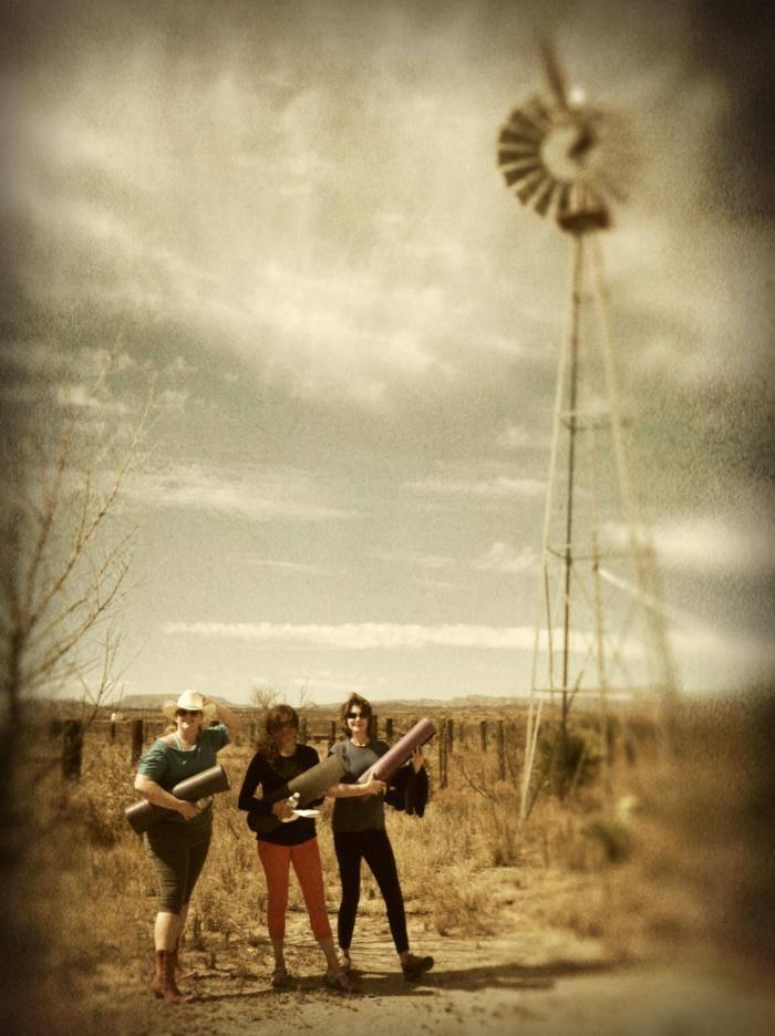 West Texas Yogis at  Casa La Vista