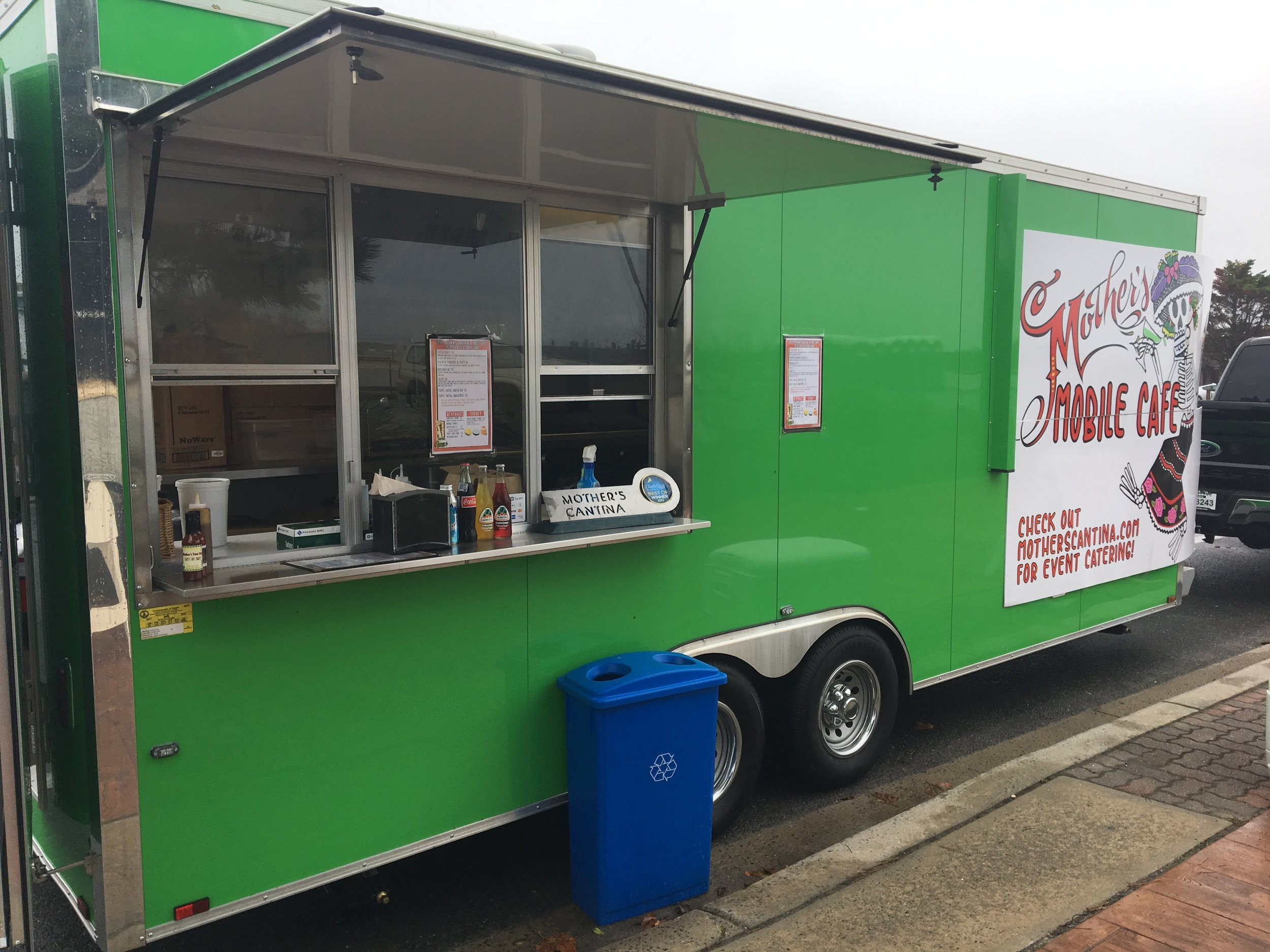 mothers catering company food truck