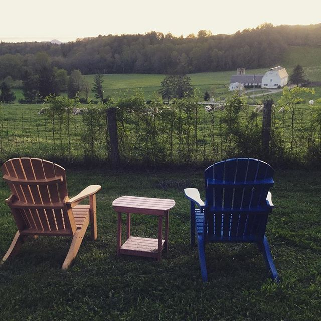 Sunset seats, Night Pasture