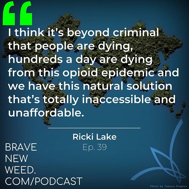 Our interview with @abbyepsteinxoxo and @rickilake about @weedthepeoplefilm is now live!  LISTEN HERE: Bravenewweed.com/podcast  #THC #CBD #opioidcrisis