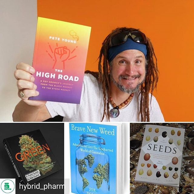 Visit BraveNewWeed.com to order your copy!  @Regran_ed from @hybrid_pharm -  Looking for some last minute gifts or reads for the cannabis enthusiast in your life? 📚🧠🌱 Check out these recommendations from our very own cannabis consultant Angelo Muscari aka @smokethestigmas . @peteyoungnypd #TheHighRoad @indivalife  @joedolce  @bravenewweed  #TheTriumphOfSeeds #GREEN @sinsemedia . #HybridPharm #FromPlantToPatient #Pharmasary - #regrann  #Cannabis #podcaster #podcastlife