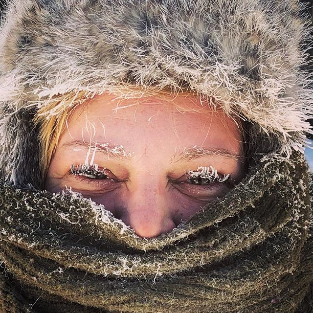 Hard to believe but it's actually colder than my last post. -38 on the walk to breakfast this morning. It's Ely, Ely cold!! #mn #exploreminnesota #wccomorning #somanylayers #getoutside #boldnorth #girlsweekend #thisisminnesota #brrrr #minnesota #dontblink