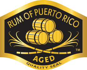 The seal you'll find on rums that meet Rums of Puerto Rico's standards — Image courtesy of  Rums of Puerto Rico