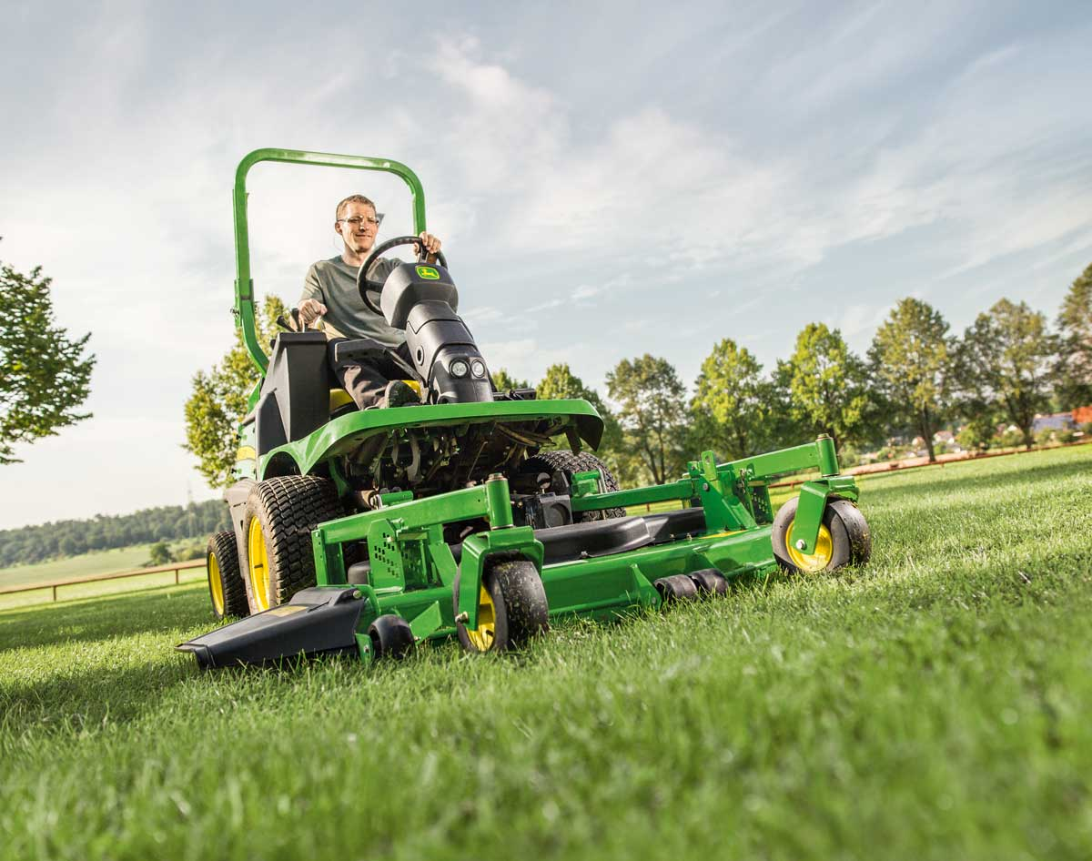 - front mowers & wide-area mowers