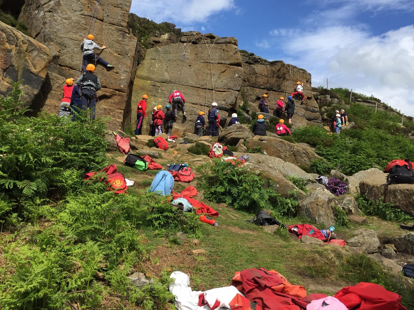 Abseiling & Rock Climbing
