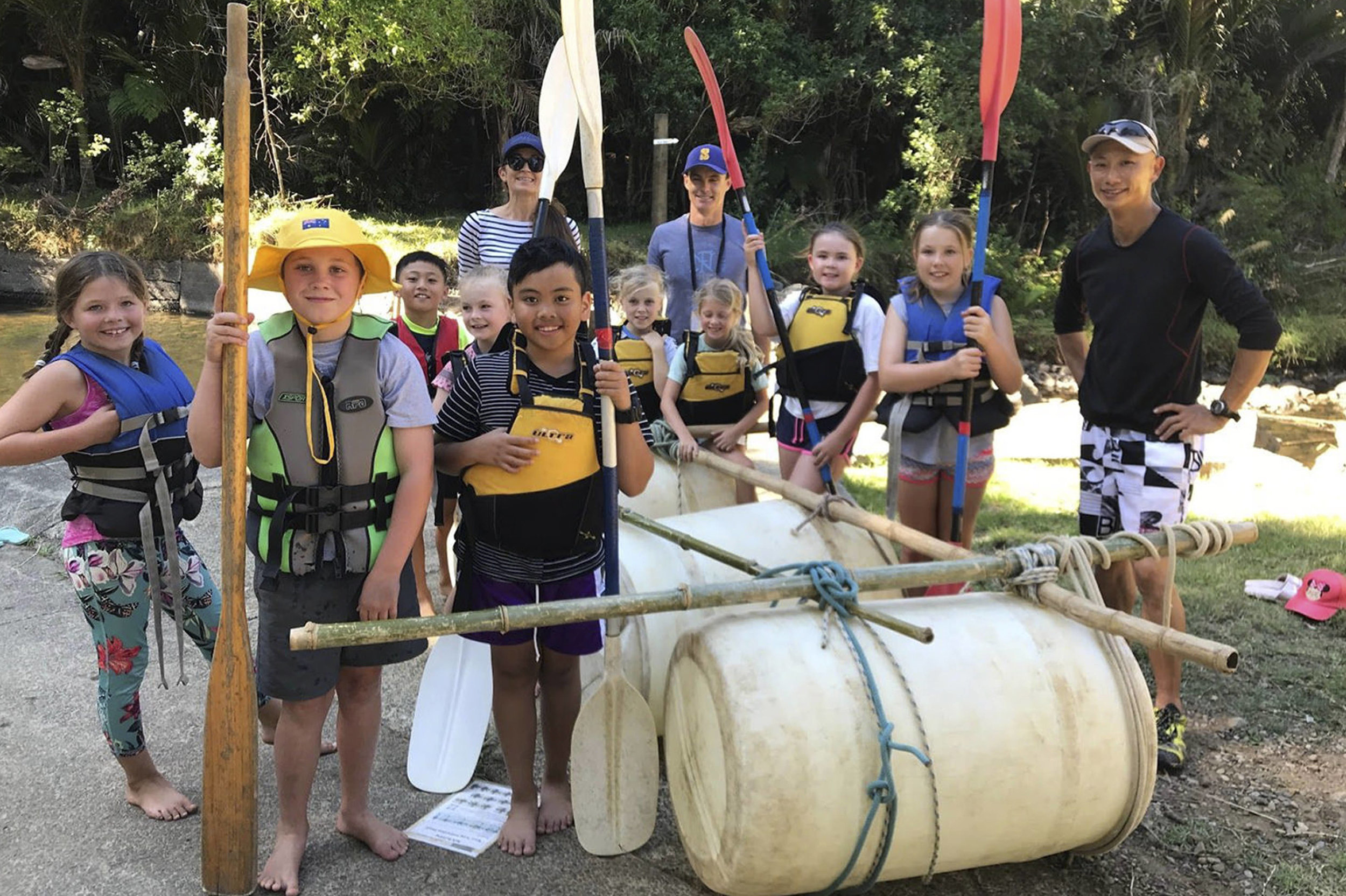 Outdoor Learning - Our children are busy enriching their learning through trips and camps throughout the year.