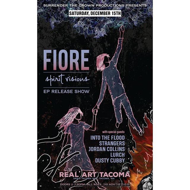 Tacoma!  We are playing Real Art tonight with our friends in @fiorepnw @lurch_pnw @strangersnw 🤘🤘🤘