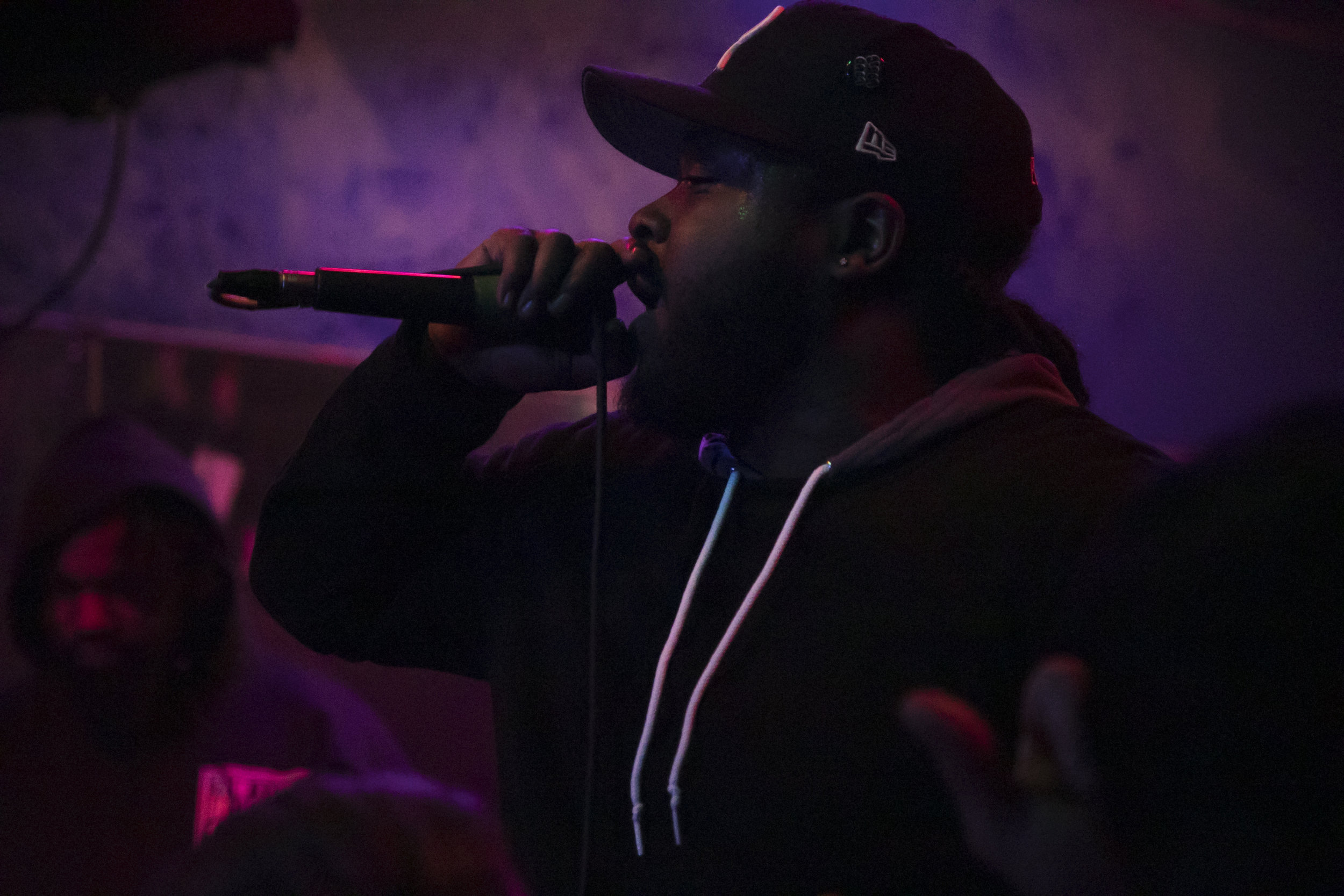 Michael Millions performs live at Wonderland RVA on February 28, 2019 in Downtown Richmond, Virginia. This was Mike's last stop on his Silkys and Switchblades Tour with fellow Richmond artist Nickelus F. The two artist performed at local venues throughout the south east United States for a month.