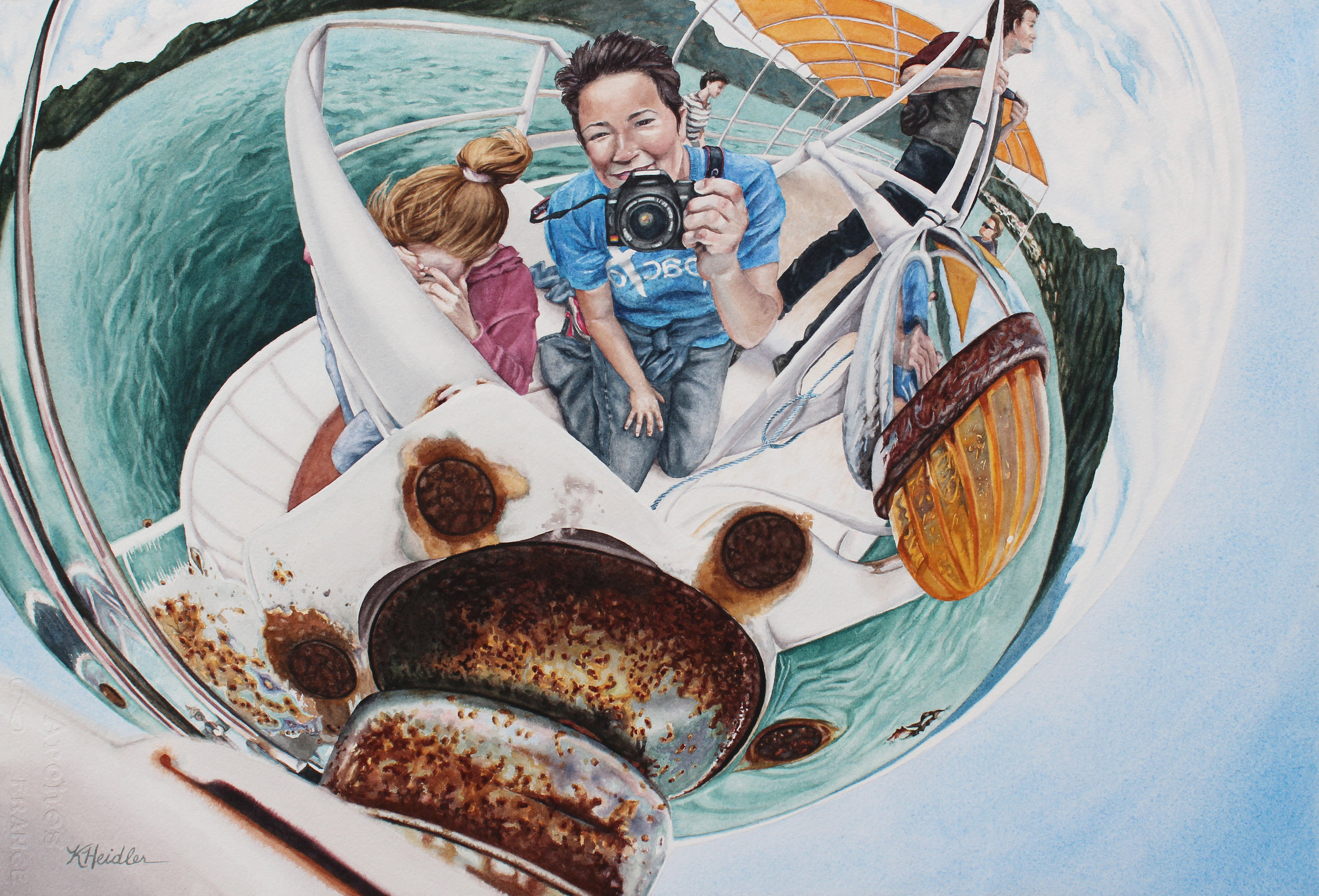 Nautical Reflecting Sphere