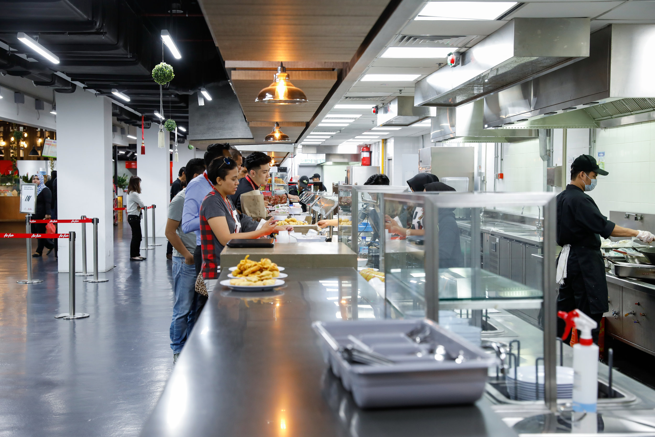 Feed well - Many of our offices have a cafeteria and a convenience store. Depending on where you are, your daily Free Munch will cover your choice of different menus from local to Western, salads and sandwiches.