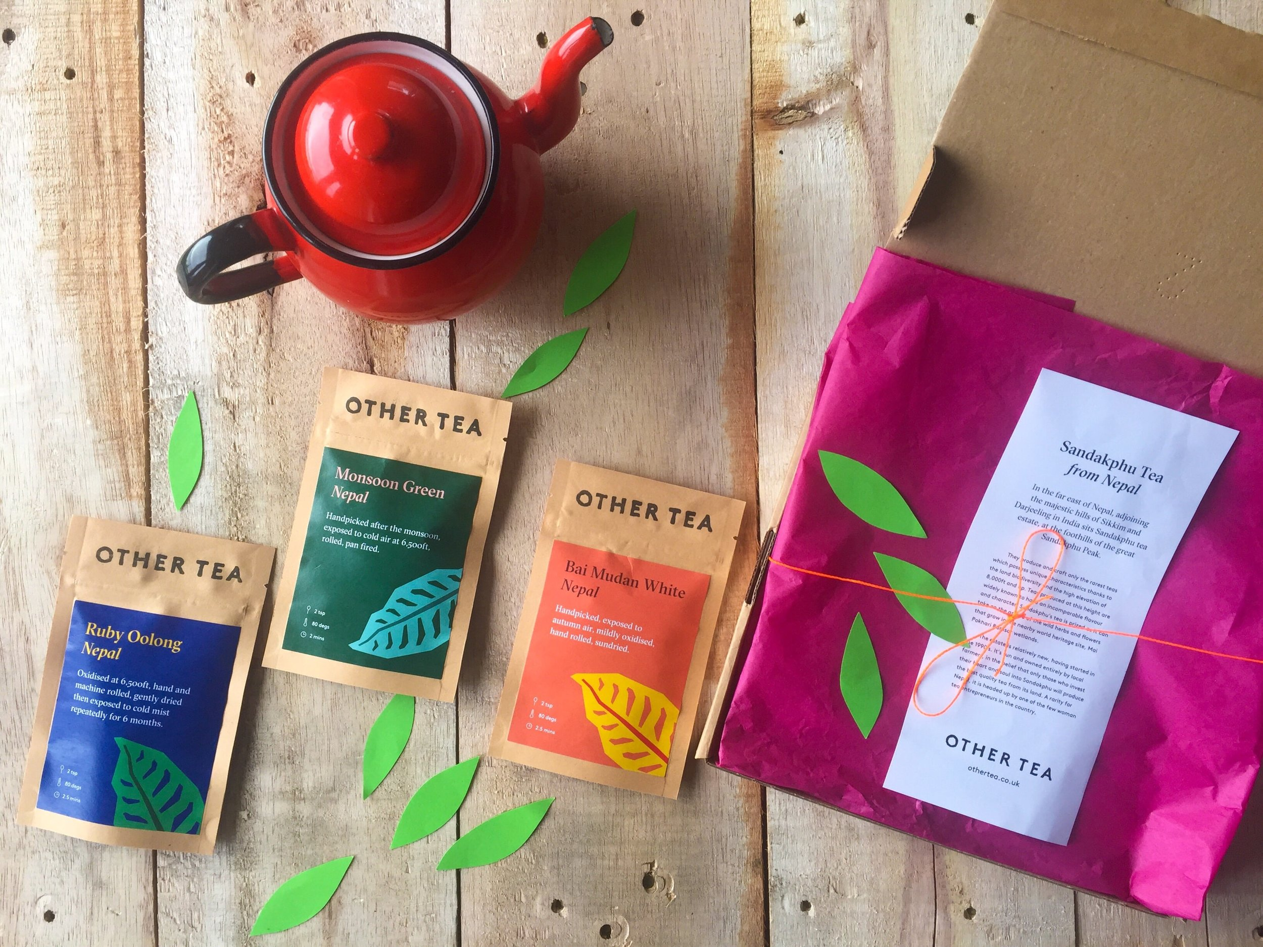 Other Tea - Green Tea Subscription Box