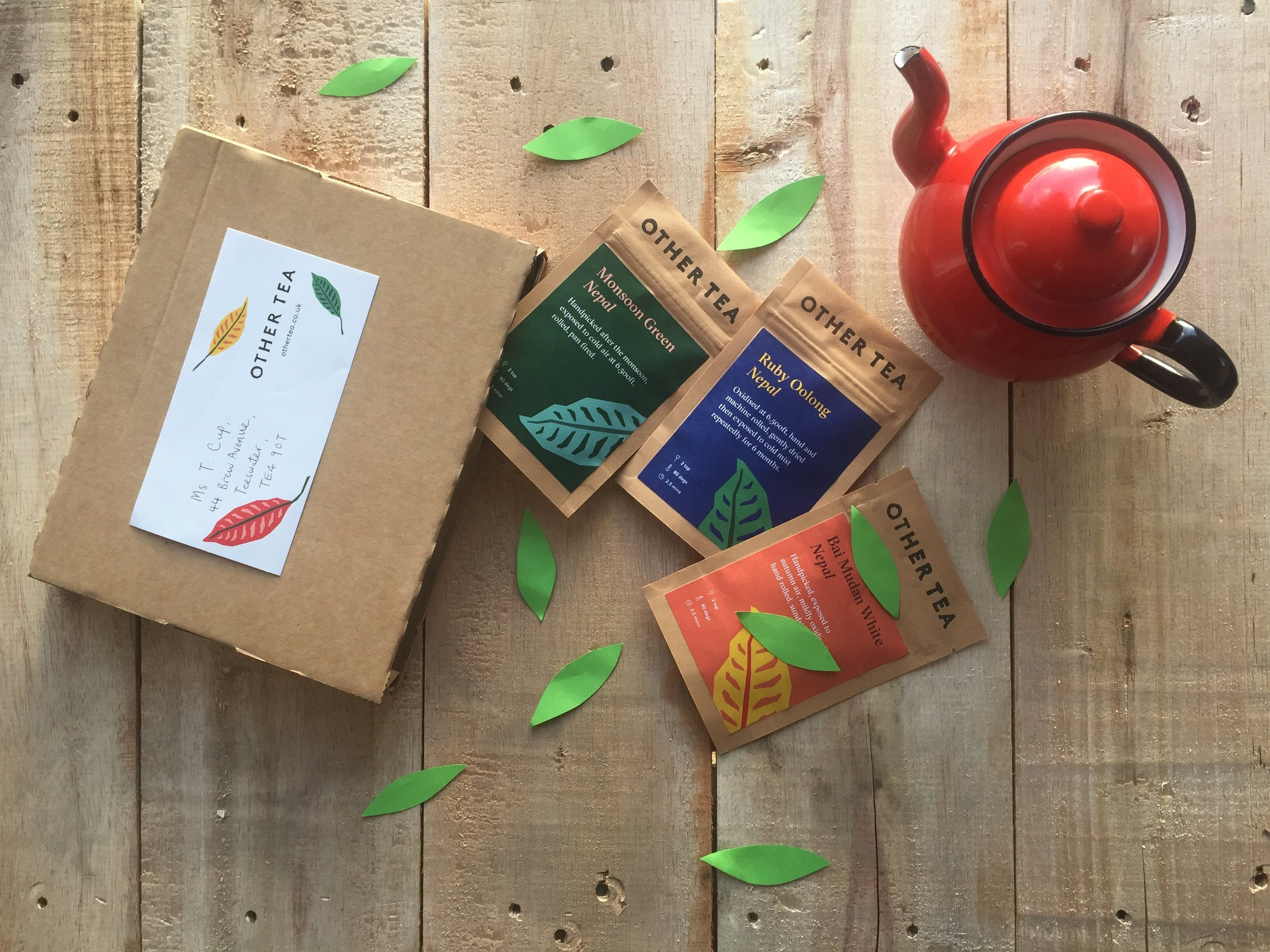 Other Tea - green tea subscription box delivery