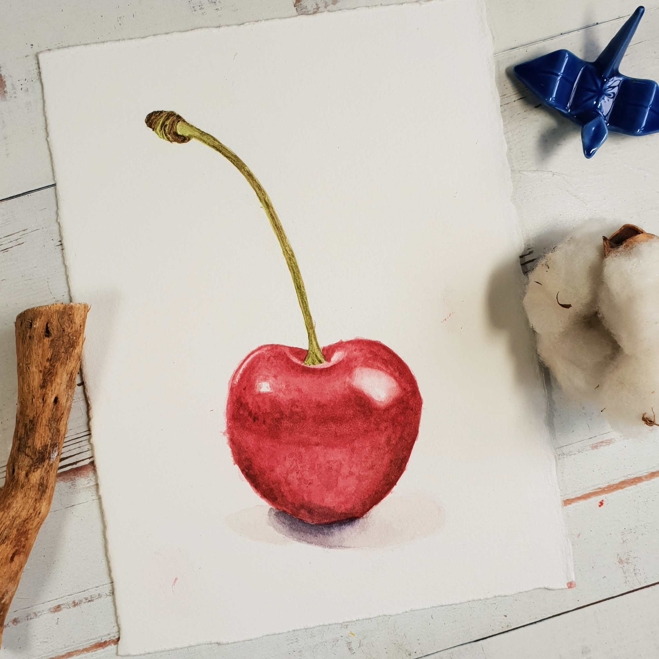janessasanio-watercolor-botanical-cherry