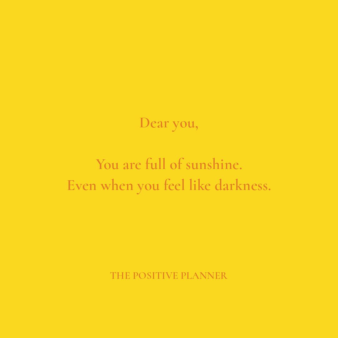 Positive Planner