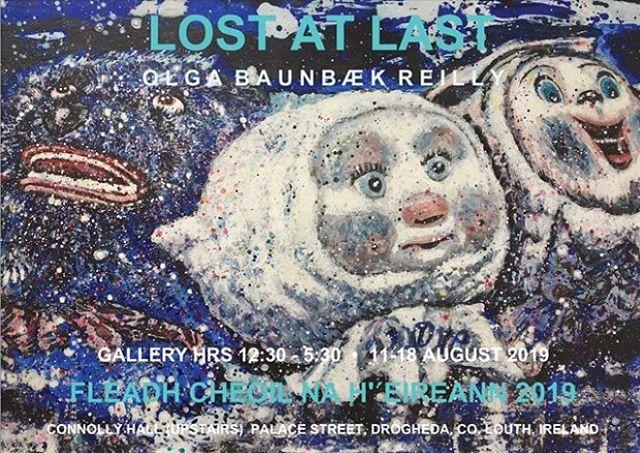Upcoming exhibition 'Lost At Last', 11-18 August, Fleadh Cheoil 2019, Ireland. #newpaintings #fleadhcheoil #fleadh2019 #fleadhcheoilnaheireann #drogheda #contemporaryirishart #irishartist