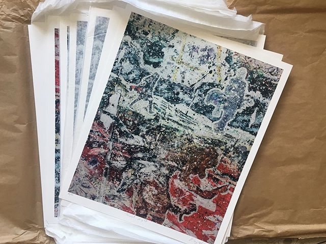 Packing up a few more prints for the fleadh. #travellight #50x60cm #fleadh2019 #artprintsforsale #fleadhcheoil